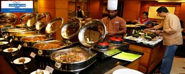 Unlimited Buffet Lunch (Soups, Salads, Main Course, Non Veg Dishes & more) + Unlimited Mocktails