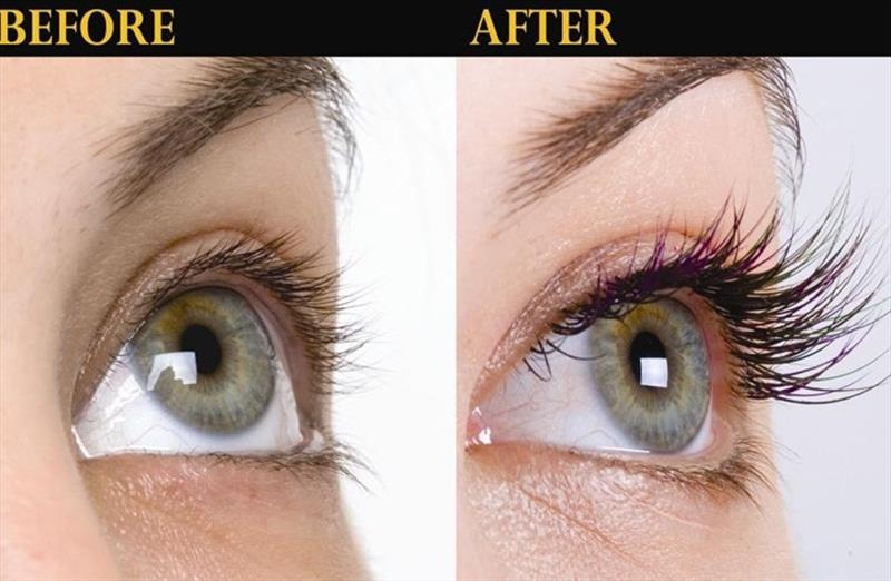 68 Off On Eyelash Extensions For 25 Lashes On Each Eye Leyan
