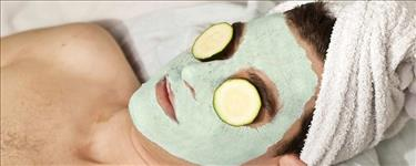 Green Apple Facial + Trimming + Hair Cut + Head Massage