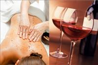 Wine Full Body Polishing, Full Body Scrub & Body Bleach
