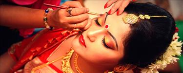MAC/Kryolan Bridal Makeup + Hair Styling + Saree Draping + Trial  Makeup & Hair Styling + Pre Bridal Package Deals in Vintage Beauty Solutions , Kochi