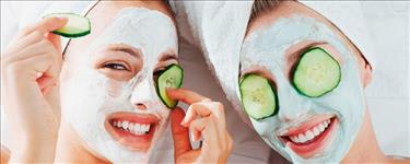 Cucumber Gel Facial/Orange Gel Facial + Dandruff T Deals in She Style Beauty Salon , kochi