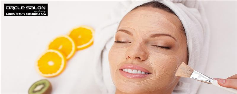 Fruit Facial + Fruit Bleach + Hot Oil Massage + Back Massage + Threading